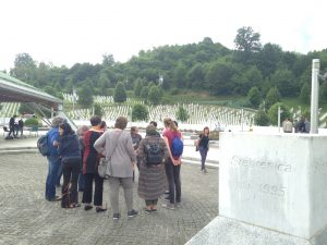 EPIL Participants at the Srebrenica Genocide Memorial